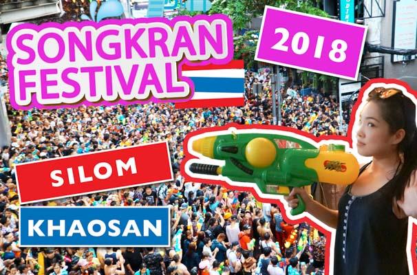 Songkran Festival 2018 VLOG