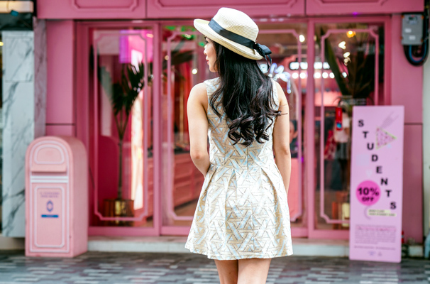 Stylenanda Pink Hotel & Pool Cafe Bangkok | Instagrammable Store