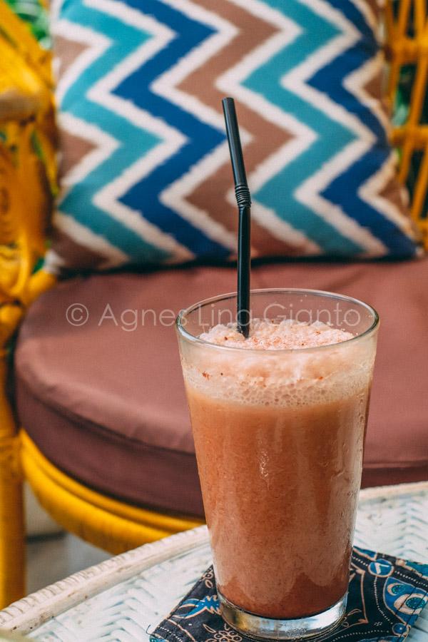 Mocha milkshake in Bali