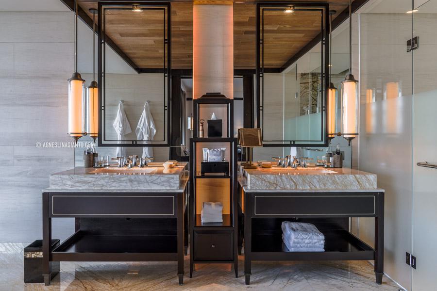 Washroom at Luxury Suite in Bali
