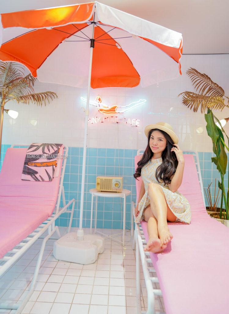 Stylenanda Pink Pool Cafe Bangkok
