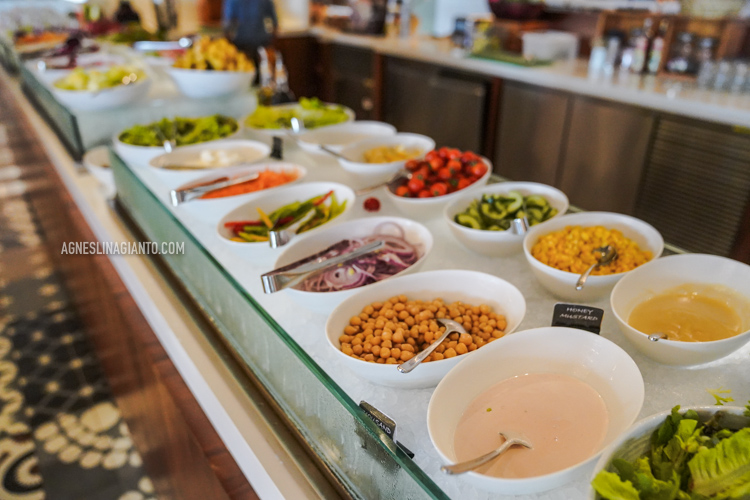 Best salad bar in Bali