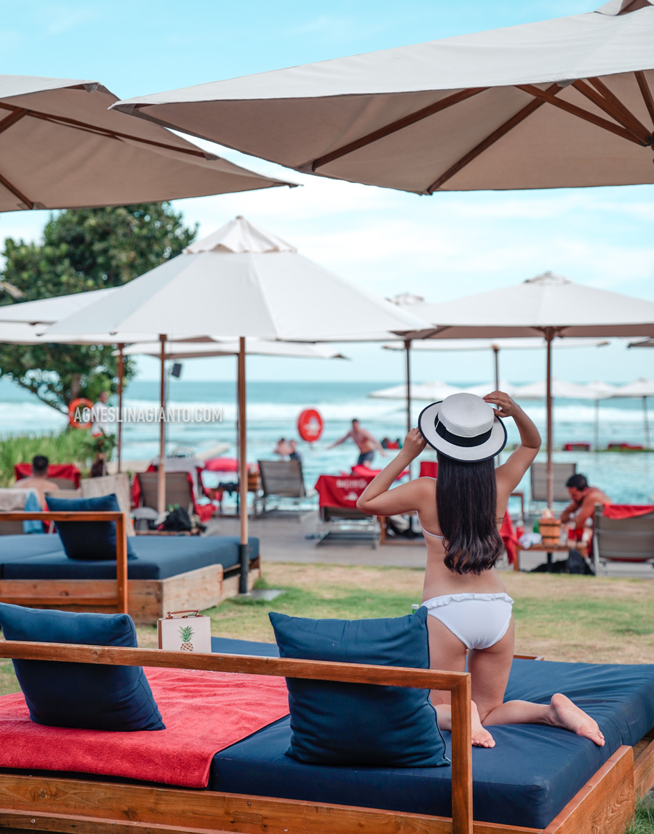 Roosterfish Beach Club at Pandawa Beach, Uluwatu, Bali