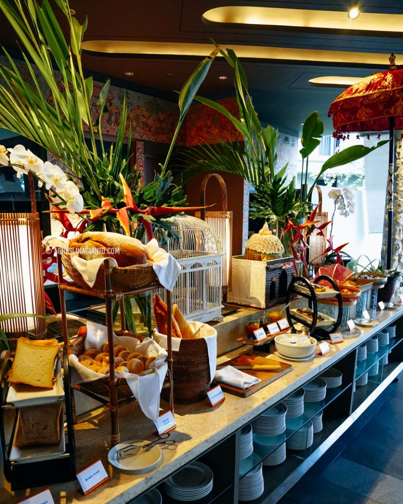 Breakfast buffet at Wyndham Jivva Bali