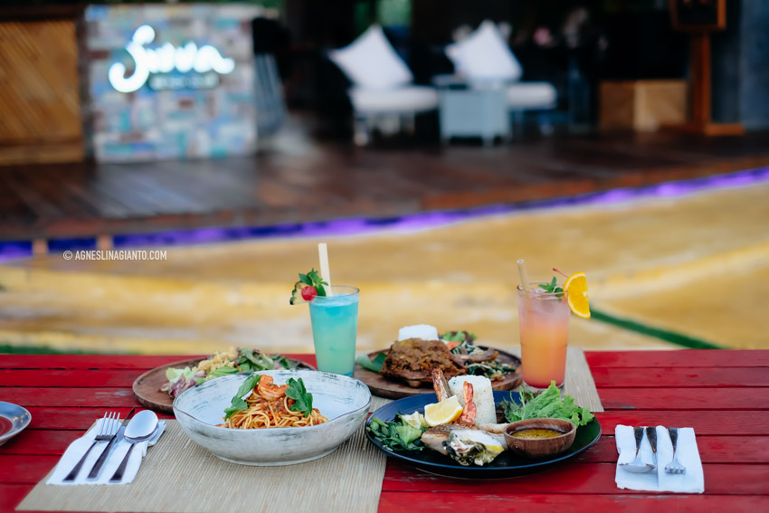 Jivva Beach Club at Hotel MAMANYA NAGITA SLAVINA
