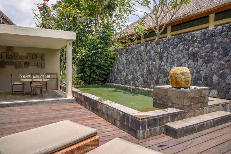 Villa with a private pool in Ubud Bali