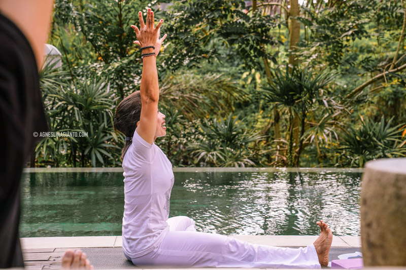 Yoga class at The Purist Villas Ubud