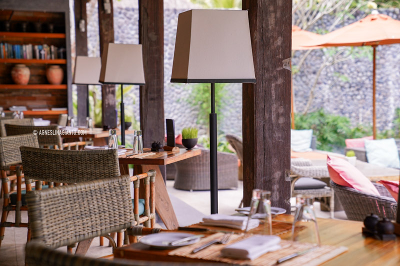 Balissimo Restaurant at The Purist Villas Ubud